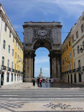 Arco Rua Augusta_Lisboa