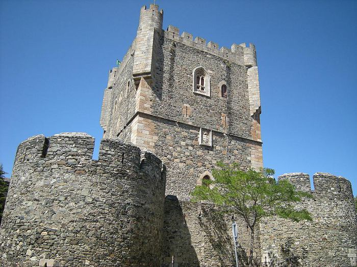 Torre de menagem do Castelo de Brangança