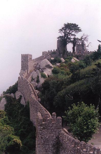Castelo dos Mouros na Serra de Sintra