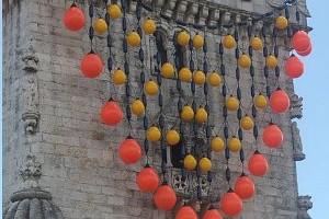 Instalaçao de Joana Vasconcelos na Torre de Belém