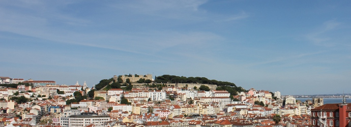 Lisboa - o castelo e a cidade