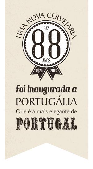 Selo Portugália Cervejaria.