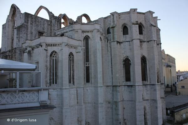 Ruínas do Carmo - Igreja do Carmo