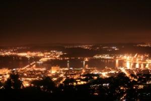 Viana Castelo vista noturna